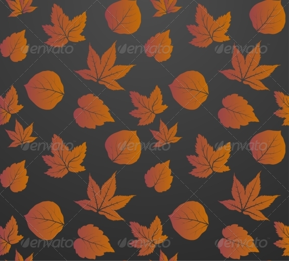 GraphicRiver Leaves Seamless Pattern 7568471