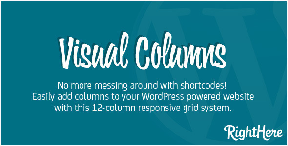Visual Columns for WordPress - CodeCanyon Item for Sale