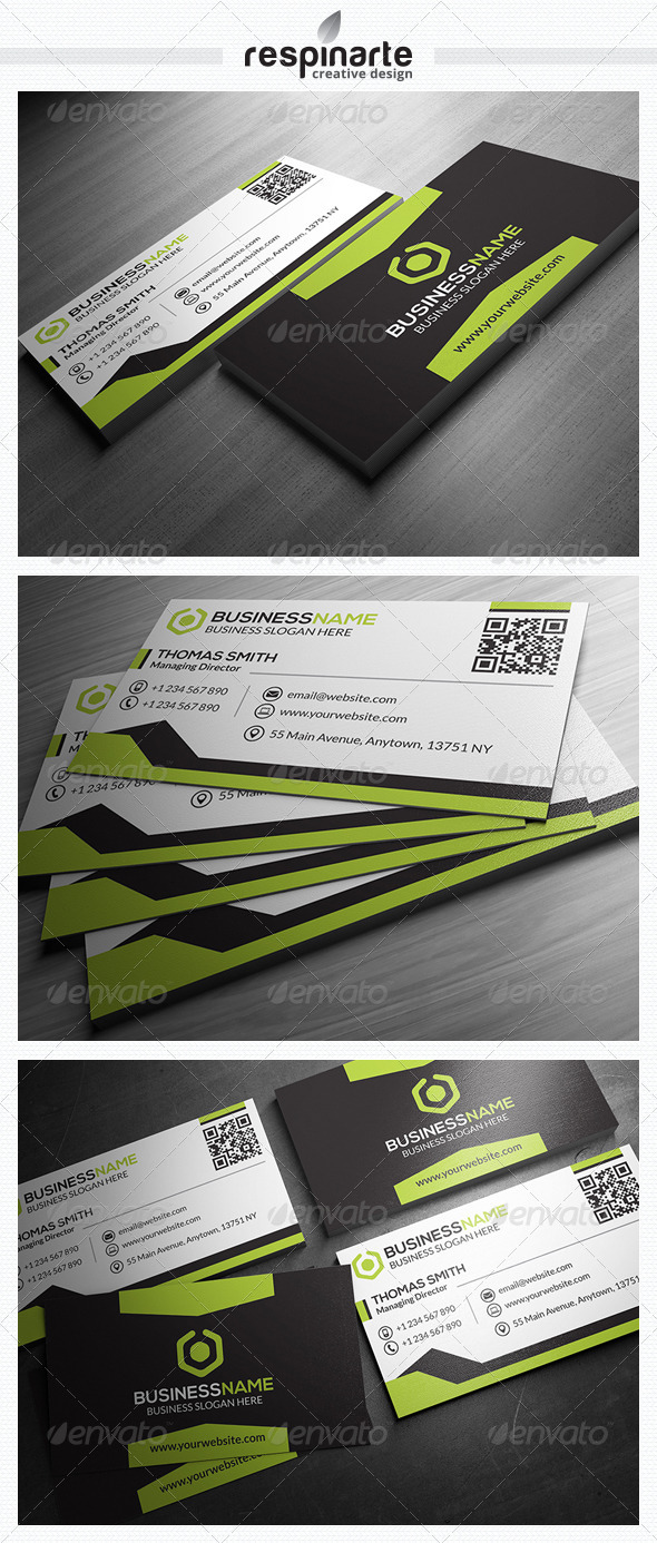 GraphicRiver Corporate Business Card RA9 7569199
