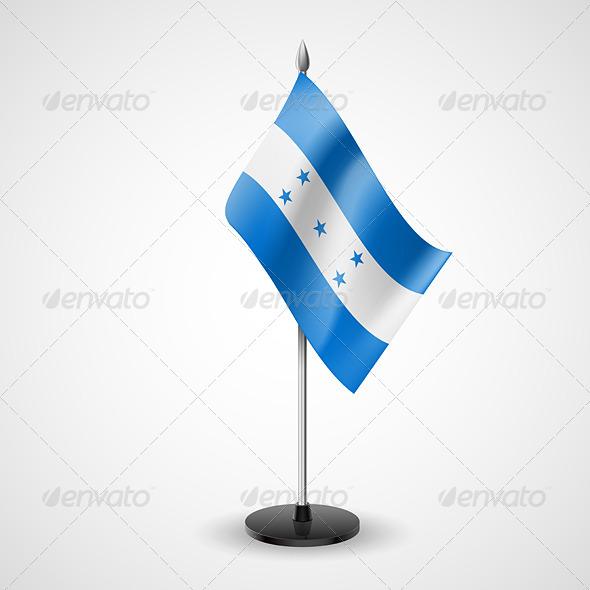 GraphicRiver Table Flag of Honduras 7569224