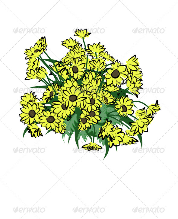 GraphicRiver Flowers 7569335