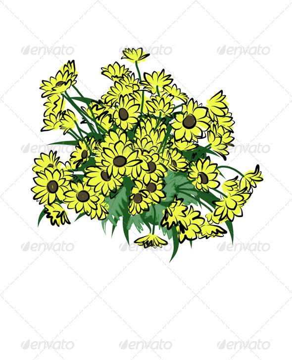 GraphicRiver Flowers 7569335