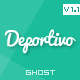 Deportivo - a blog wall for Ghost
