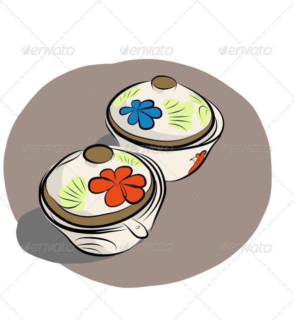 GraphicRiver Sauce Dish 7569673