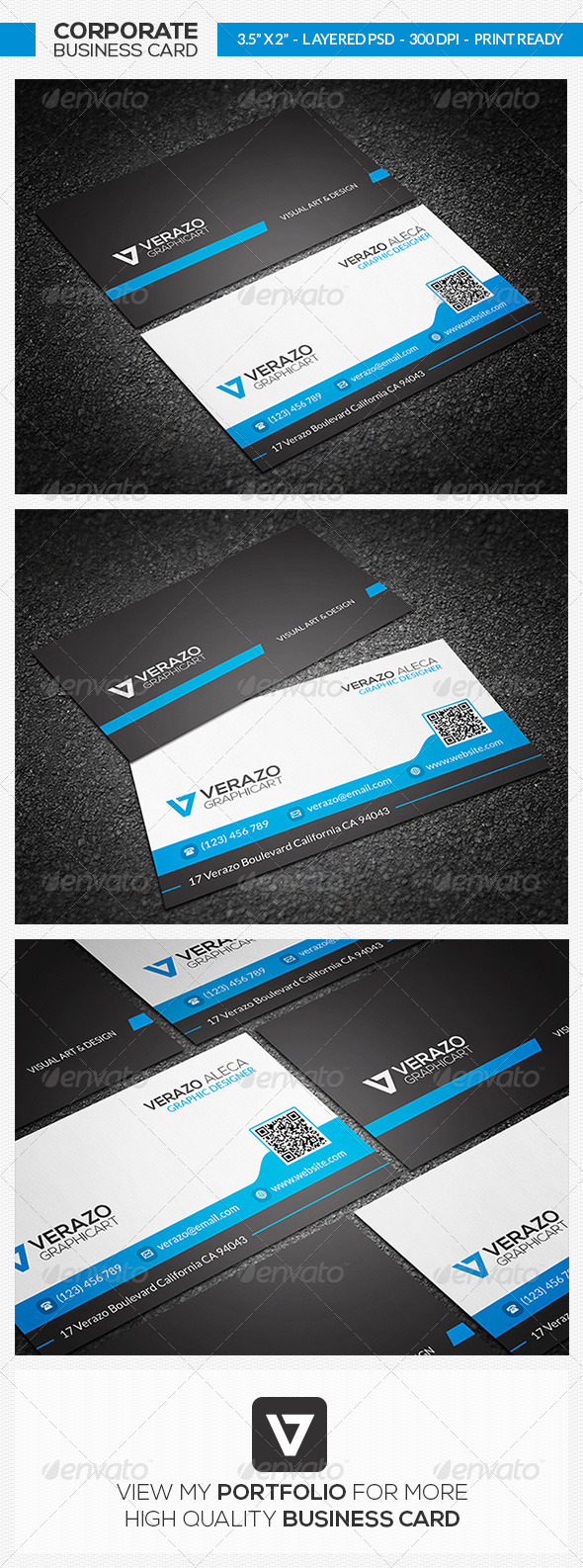 GraphicRiver Clean Business Card 30 7569816