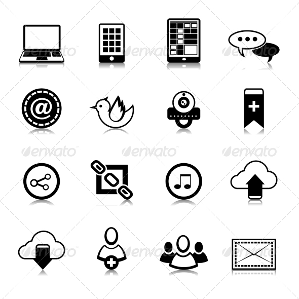 GraphicRiver Social Media Icons 7569817