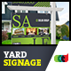 Modern Real Estate Yard Signage 8 + Riders - GraphicRiver Item for Sale