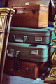 stack of vintage suitcases - PhotoDune Item for Sale