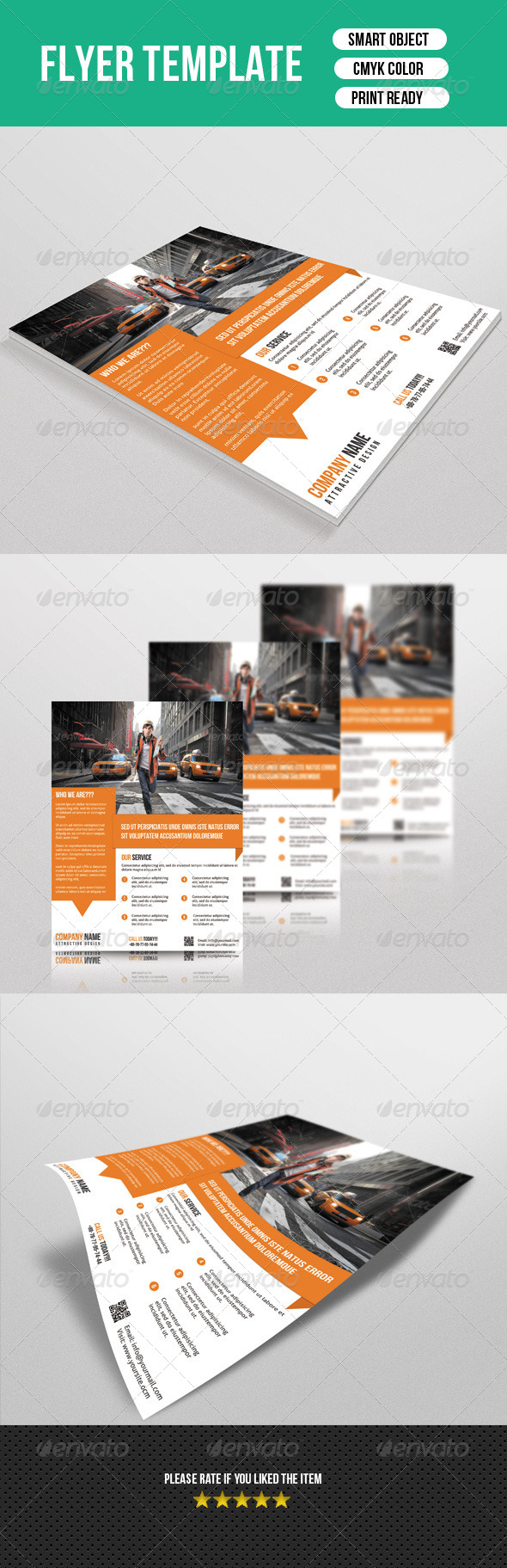 GraphicRiver Corporate Flyer Template 7570201