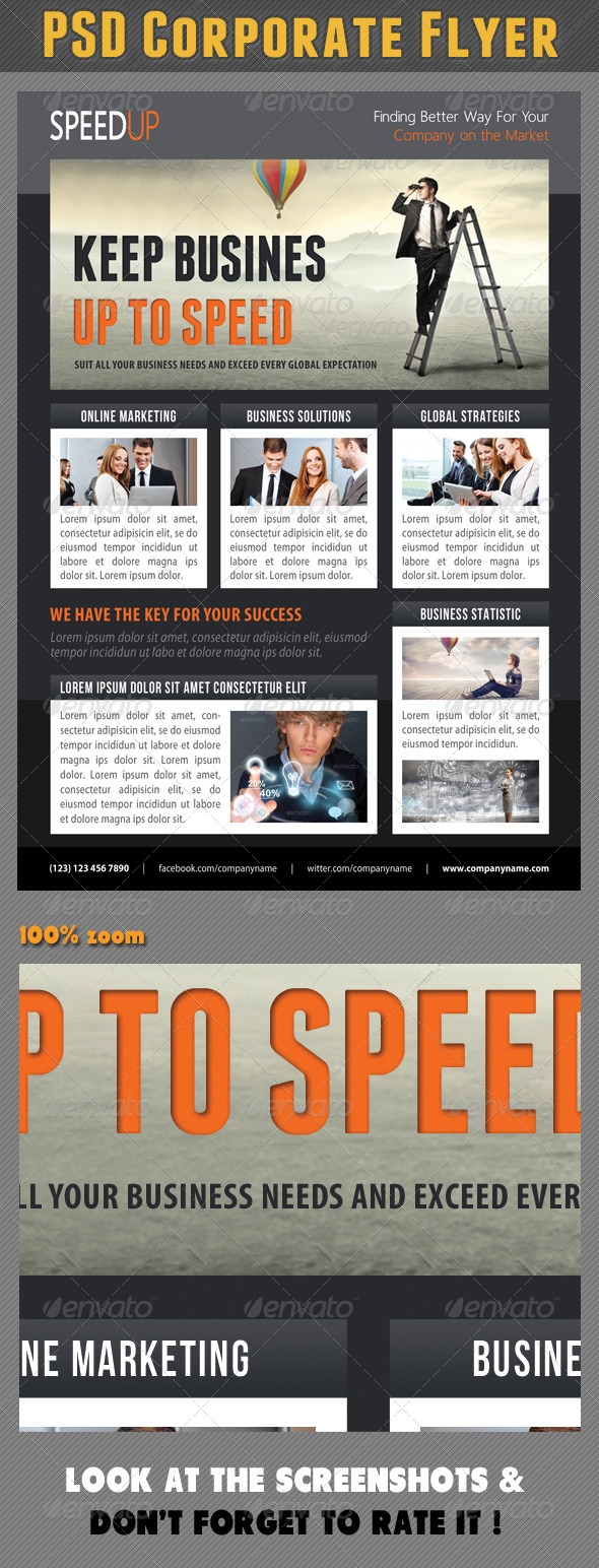 GraphicRiver Corporate Product Flyer 85 7569158