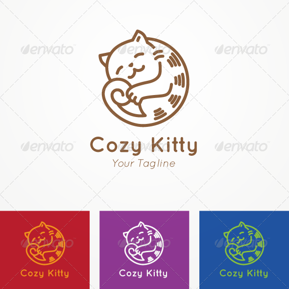 GraphicRiver Cozy Kitty 7570357