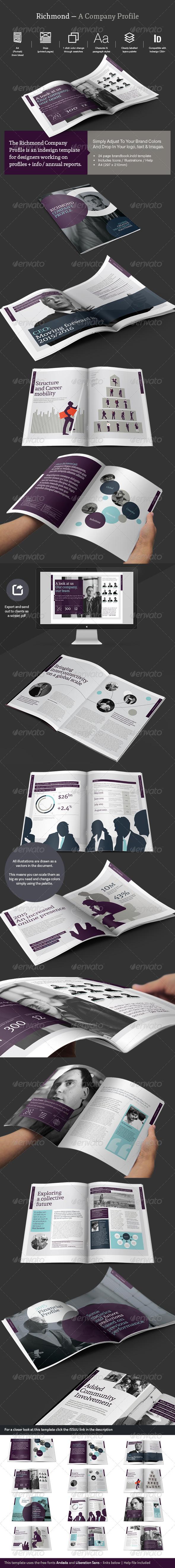 GraphicRiver Company Profile Review 7558744