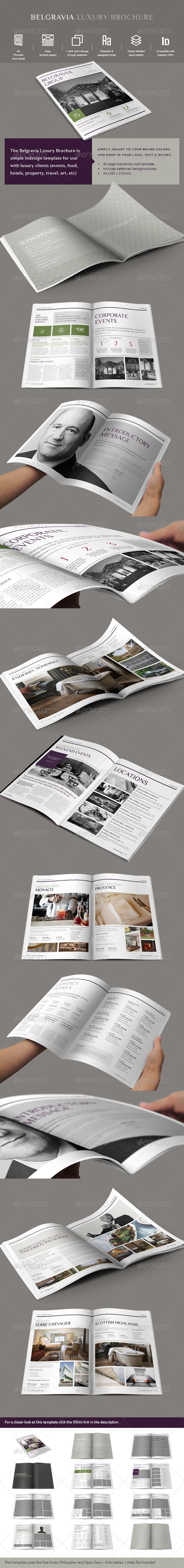 GraphicRiver Luxury Brochure Template 7570986