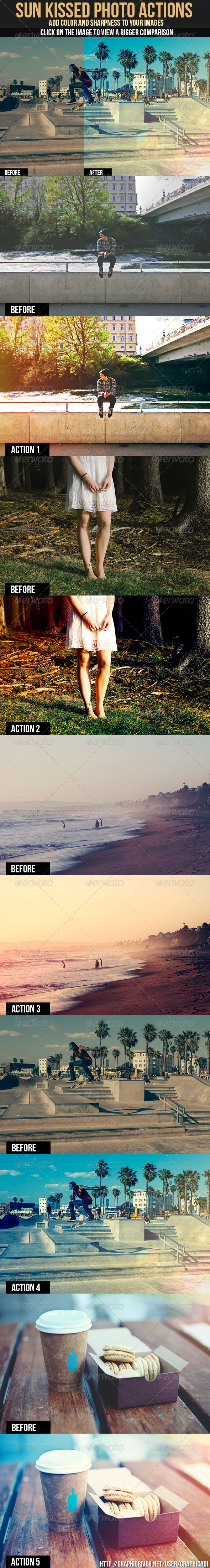 GraphicRiver Sun Kissed Photo Actions 7571513