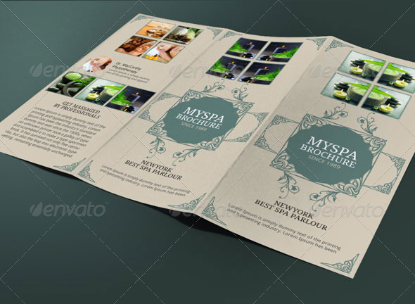 Spa Brochure Template by BloganKids – Spa Brochure Template