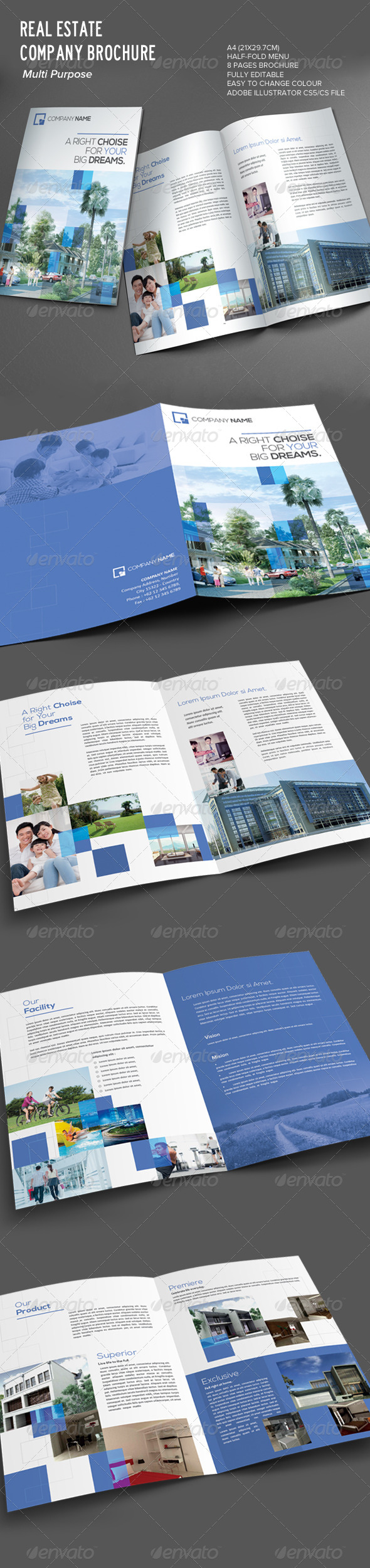 GraphicRiver Real Estate Brochure 7571770