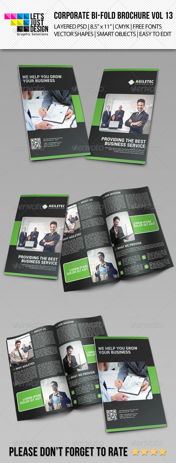 GraphicRiver Creative Corporate Bi-Fold Brochure Vol 13 7572063