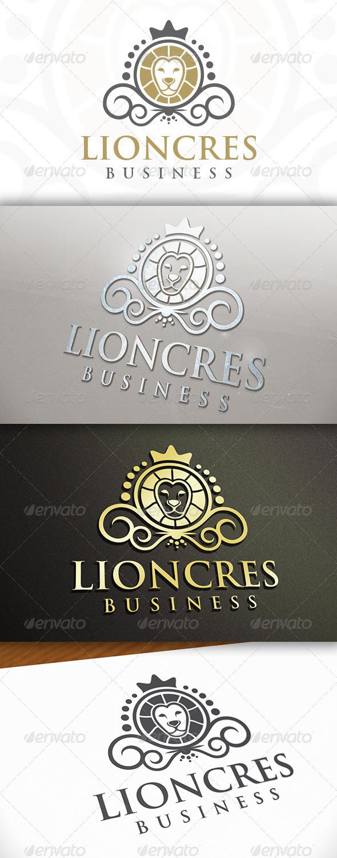 GraphicRiver Lion Crest Logo 7572061