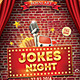 Jokes Night Flyer - GraphicRiver Item for Sale