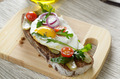 Fried egg open sandwich - PhotoDune Item for Sale