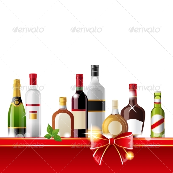 GraphicRiver Alcohol Drinks 7572726