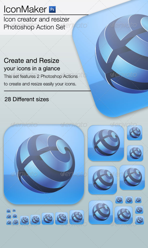 GraphicRiver iconMaker Icon Creator and Resizer for Photoshop 7573202