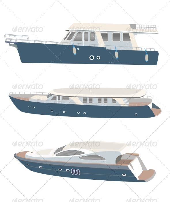 GraphicRiver Yacht 7573252