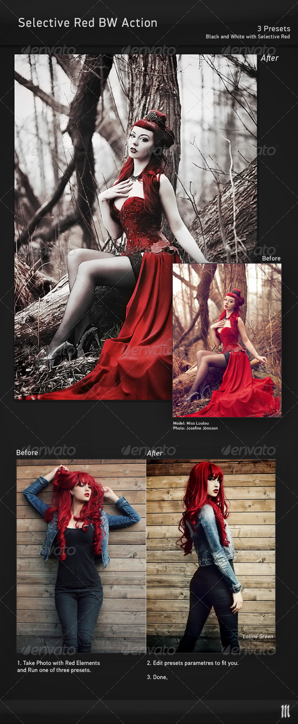 GraphicRiver Selective Red Action 7573260