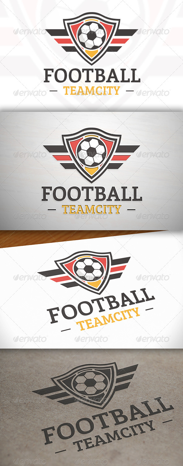 GraphicRiver Football Team Logo Template 7573389
