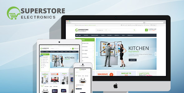 Lexus SuperStore MultiPurpose Opencart Templates