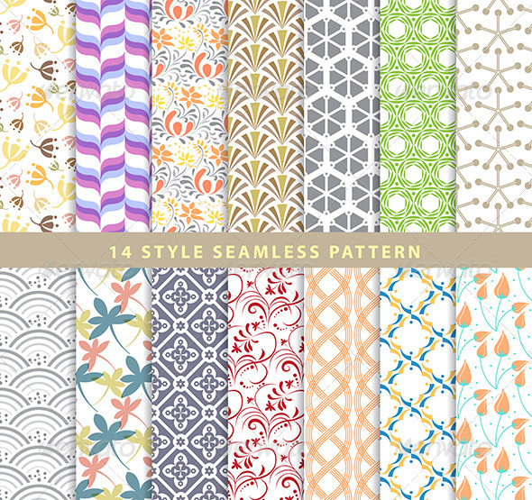 GraphicRiver Various Patterns 7565711