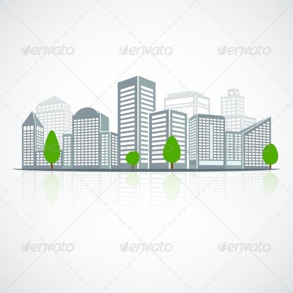 GraphicRiver Building Landscape Emblem 7573796