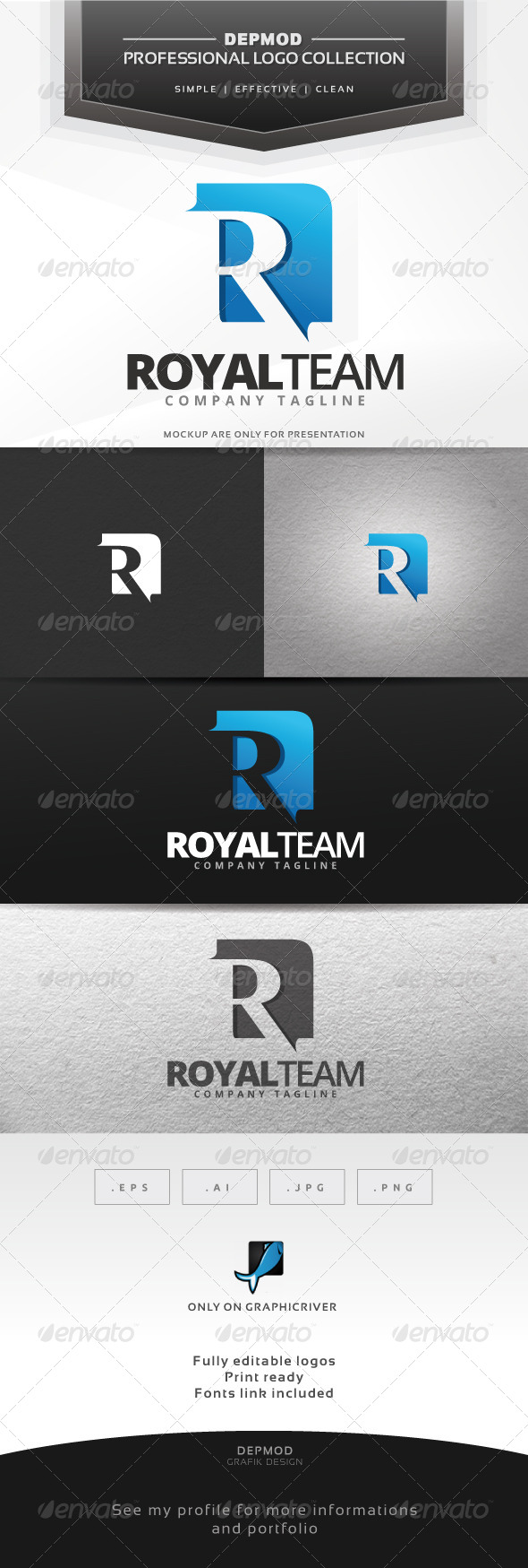 GraphicRiver Royal Team Logo 7573964