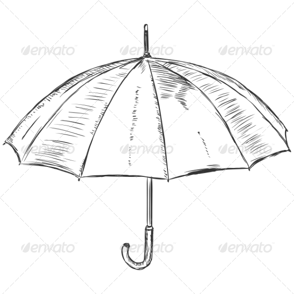 GraphicRiver Open Umbrella 7574178