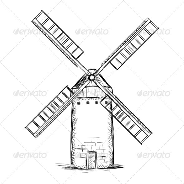 GraphicRiver Old Wildmill 7574180