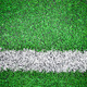 White stripe on the green soccer field - PhotoDune Item for Sale
