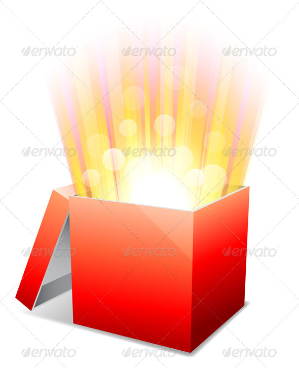 GraphicRiver Glowing Box 7574260