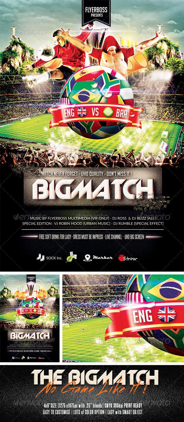 GraphicRiver The Bigmatch 7569126