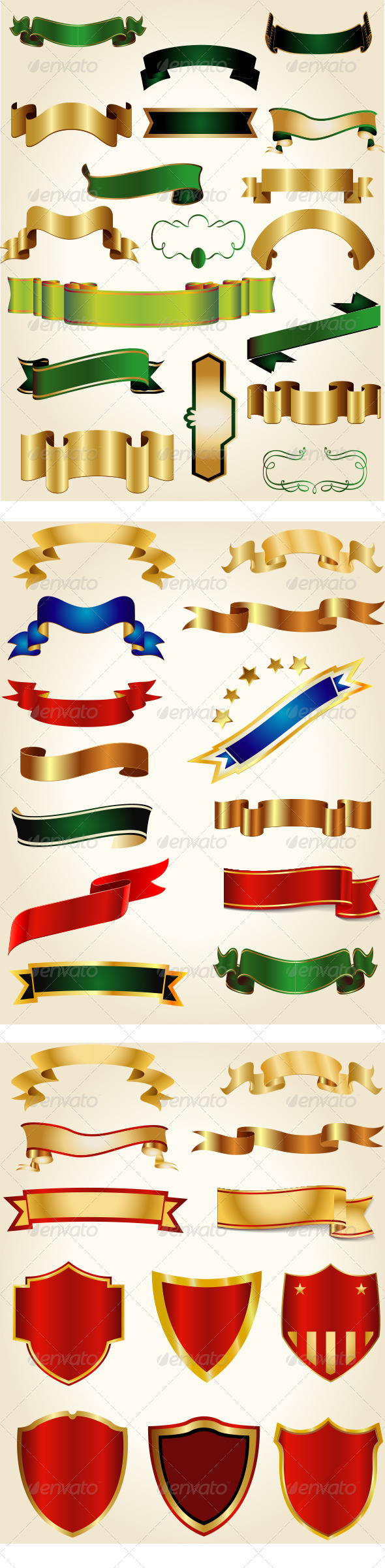 GraphicRiver Ribbon Bundle Collection 7574614