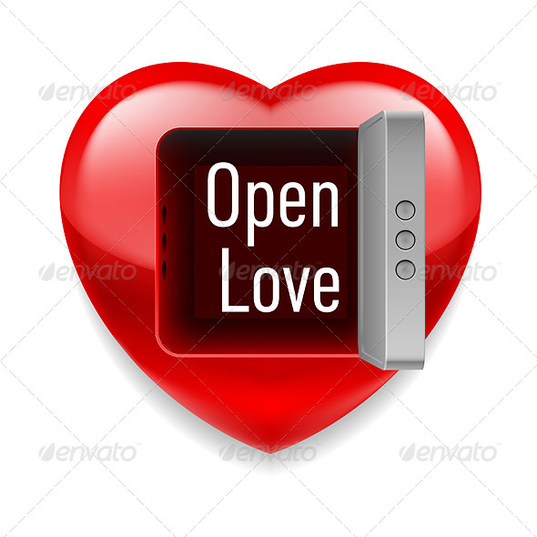 GraphicRiver Open Love Image 7574703