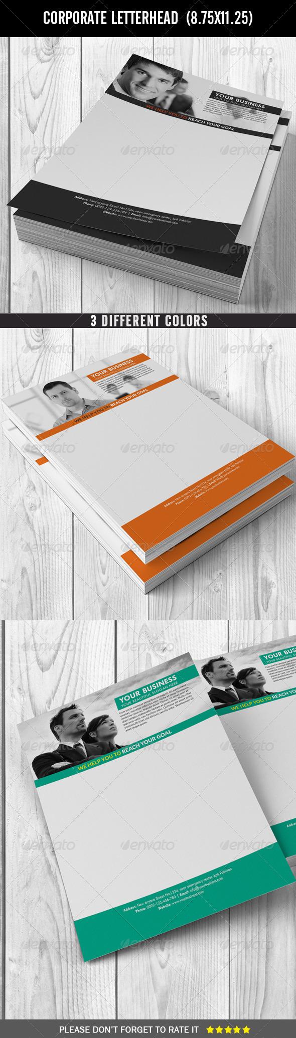 GraphicRiver Corporate Letterhead 7574709
