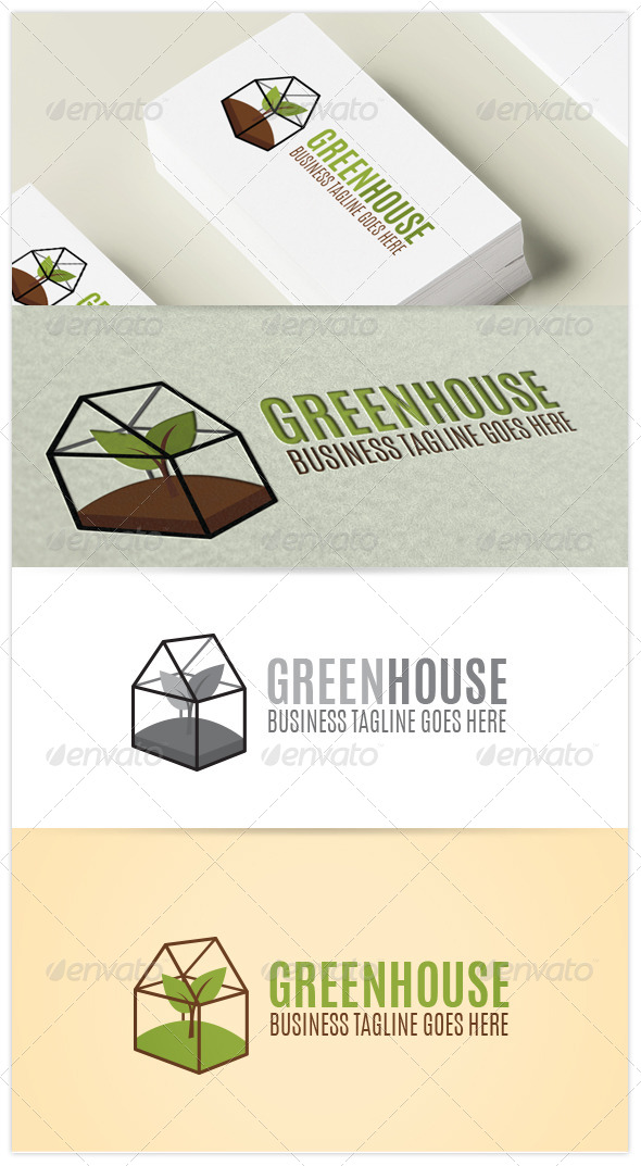 GraphicRiver Greenhouse Logo 7574812