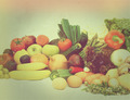 Vintage fruit and vegetables - PhotoDune Item for Sale