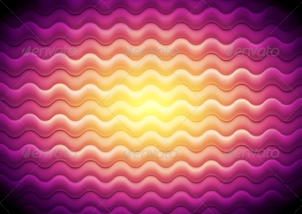 GraphicRiver Abstract Shiny Waves Background 7575245