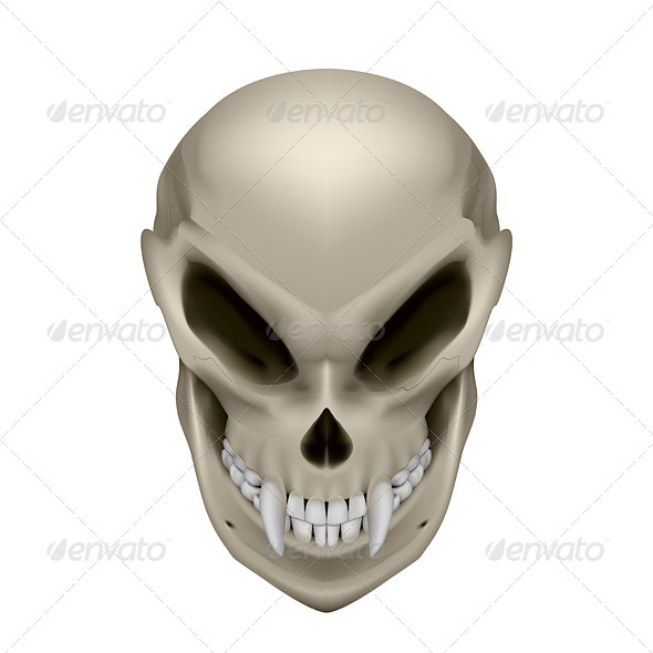 GraphicRiver Skull of a Mutant 7575325