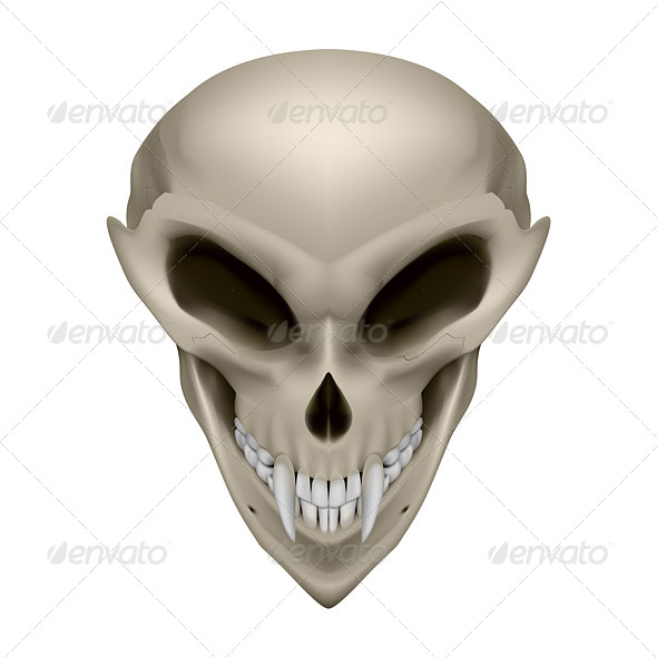 GraphicRiver Skull of a Mutant 7575619