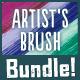Vector Artist's Brush Bundle - GraphicRiver Item for Sale