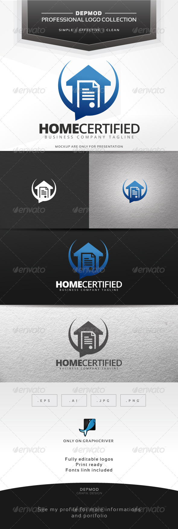 GraphicRiver Home Certified Logo 7575723