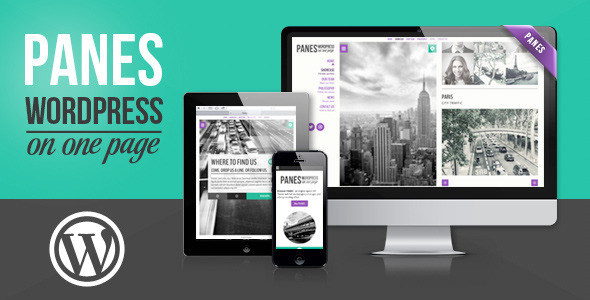 Panes - WordPress on One Page - Business Corporate