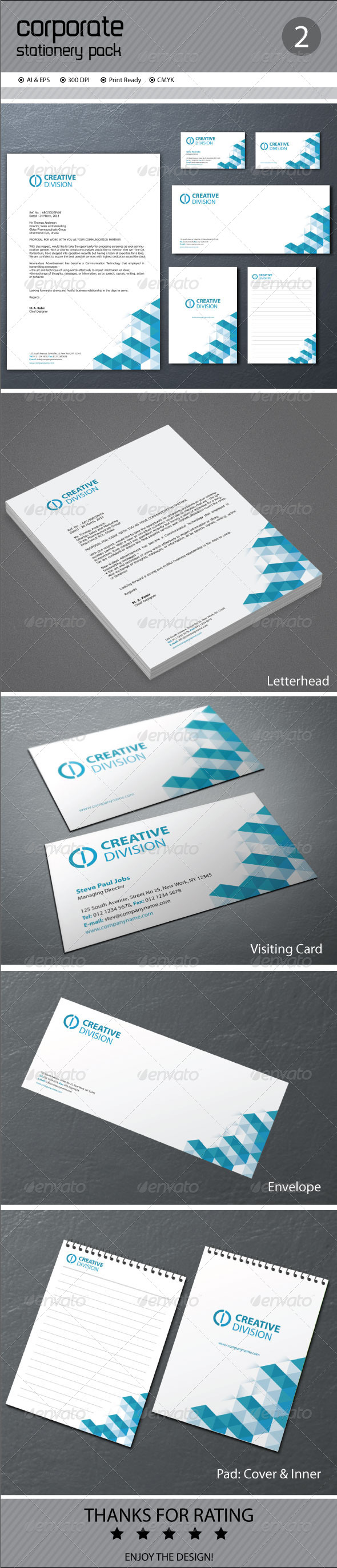 GraphicRiver Corporate Stationery 7575903